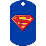 Superman Large Military ID Quick-Tag