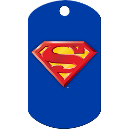 Superman Large Military ID Quick-Tag 5 Pack