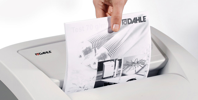 These small to mid-sized Dahle Shredders are ideal for small offices or teams of 1-3 users.