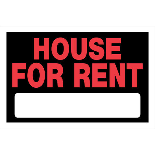 House For Rent Sign (8