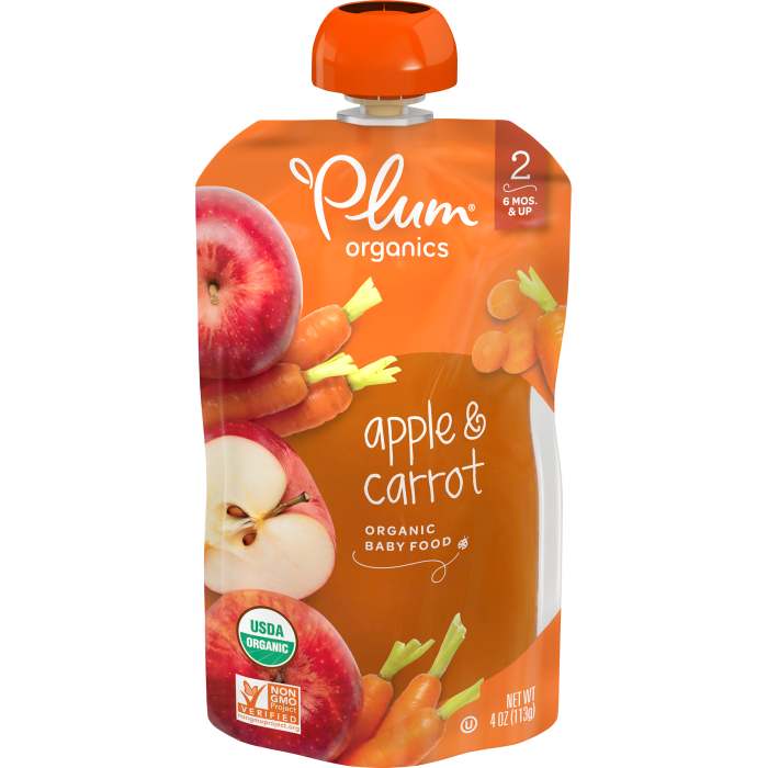 Apple & Carrot Baby Food