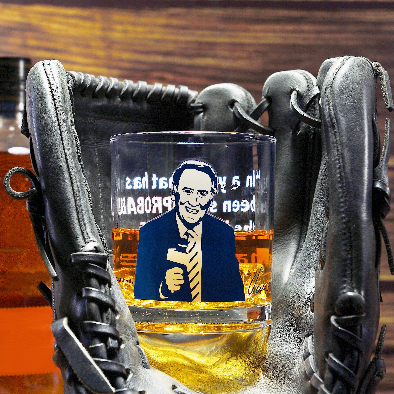 Zak Hydration 14.5 ounce Double Old Fashion Glass, Vin Scully, 4-piece set slideshow image 4