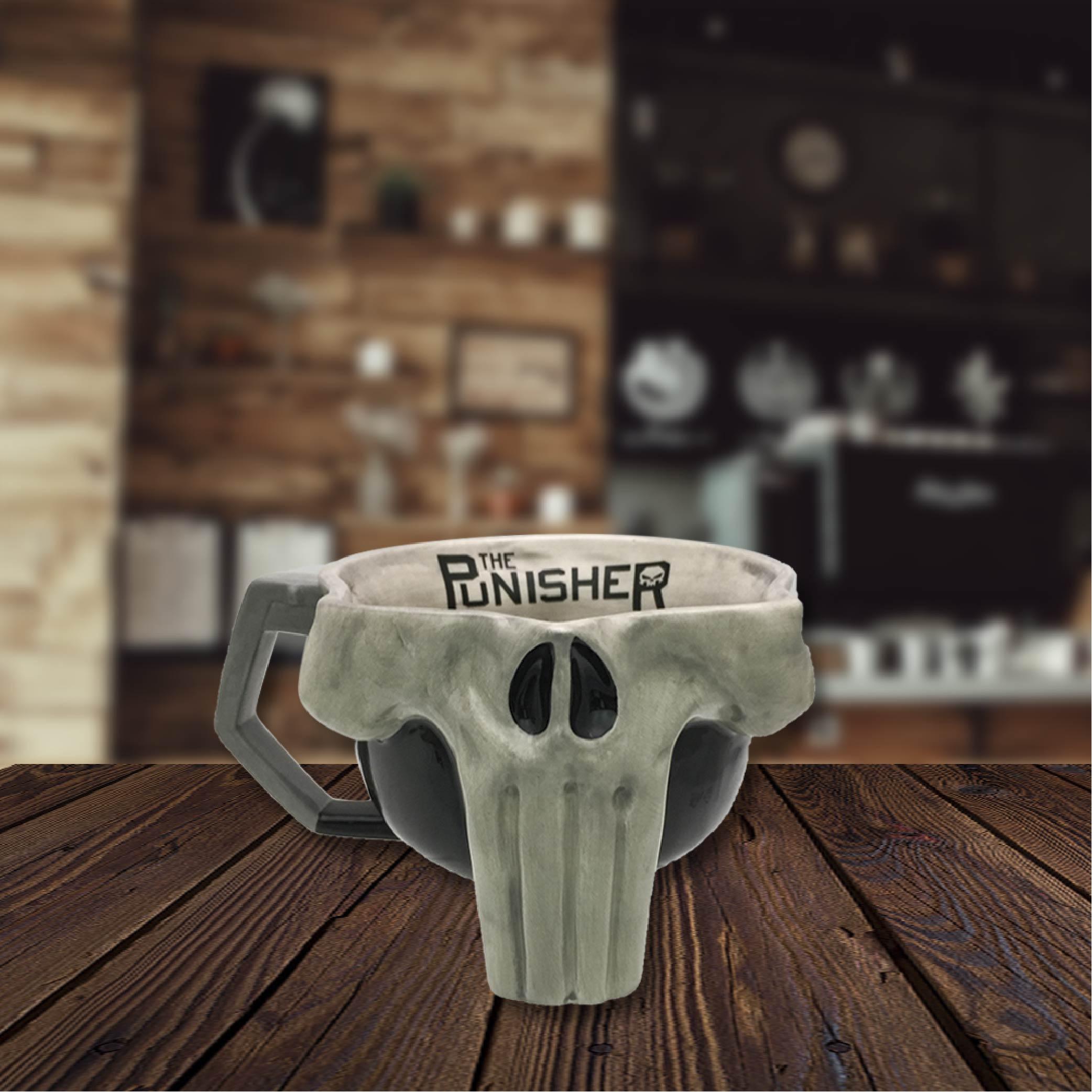 Marvel Comics 17 ounce Coffee Mug, The Punisher slideshow image 3