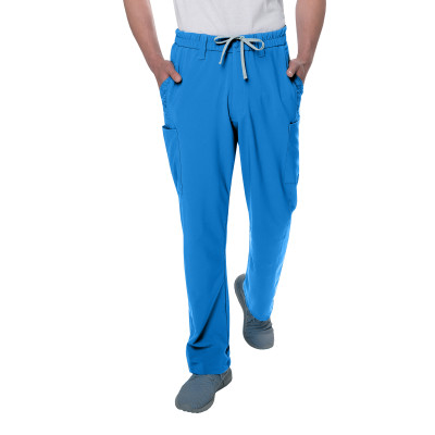 Urbane Performance 7 Pocket Scrub Pants for Men: Modern Tailored Fit, Super Stretch Fabric, Moisture Wicking, Medical Scrubs 9250-