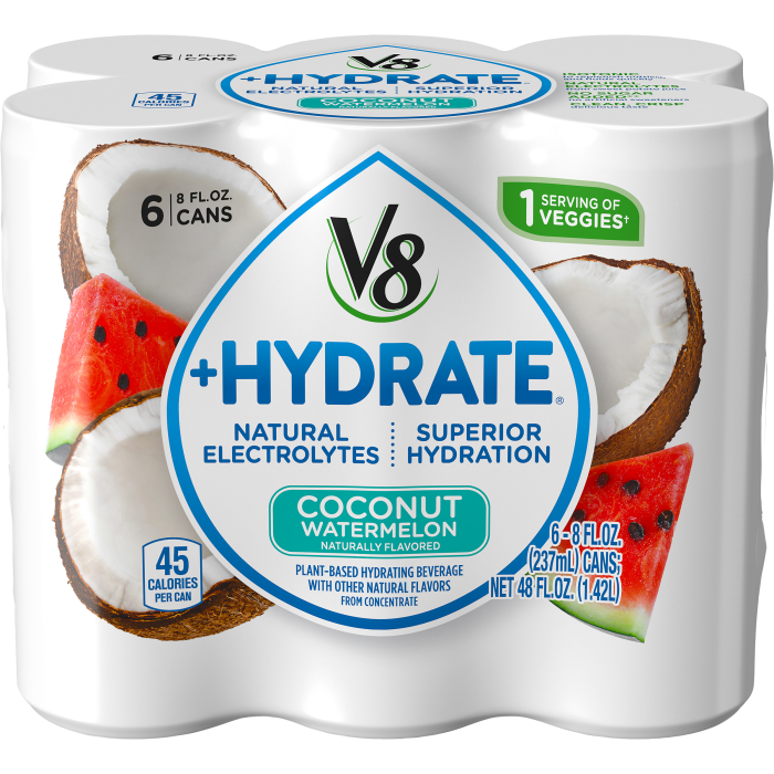 Plant-Based Hydrating Beverage, Coconut Watermelon