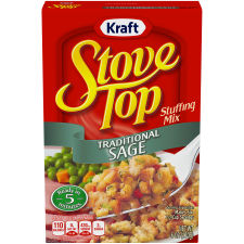 Kraft Stove Top Traditional Sage Stuffing Mix 6 oz Box