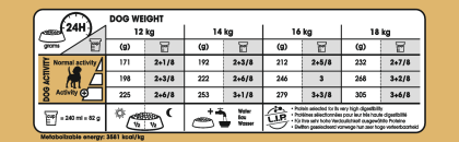 Beagle Adult feeding guide