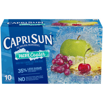Capri Sun Pacific Cooler Ready-to-Drink Soft Drink 10 - 6 fl oz Pouches