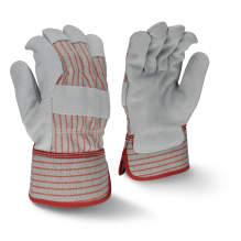 Radians RWG3105 Fleece Lined Economy Shoulder Gray Split Leather Glove