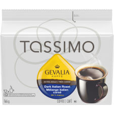 Tassimo Gevalia Dark Italian Roast Coffee Single Serve T-Discs