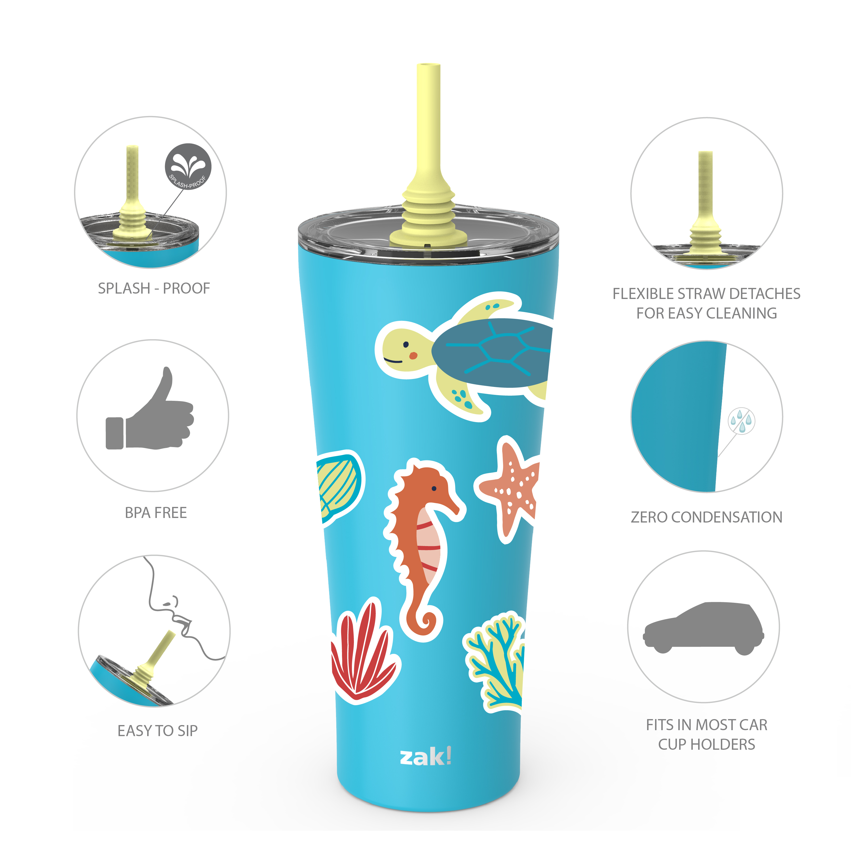 Alfalfa 30 ounce Insulated Tumbler, Ocean Friends slideshow image 7