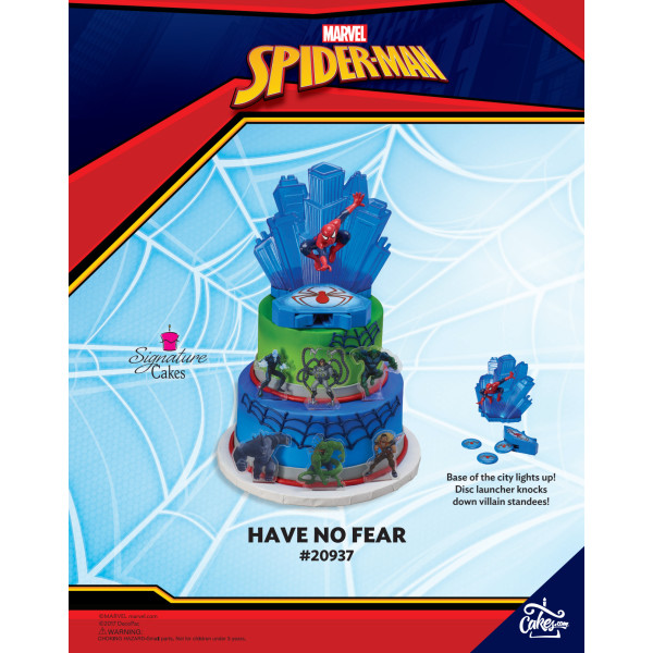 Marvel's Spider-Man Have No Fear DecoSet® The Magic of Cakes® Page