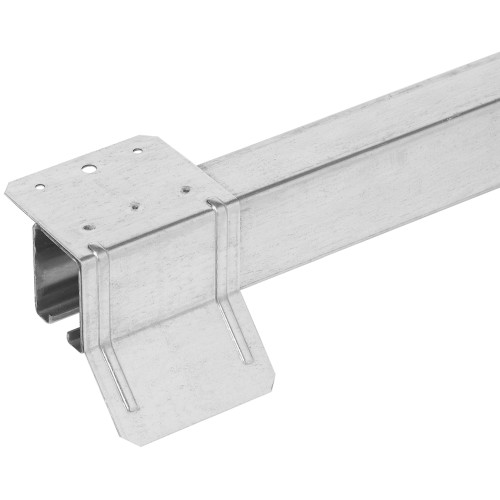 Galvanized Top Mounted Box Rail Flashing Brackets 8'