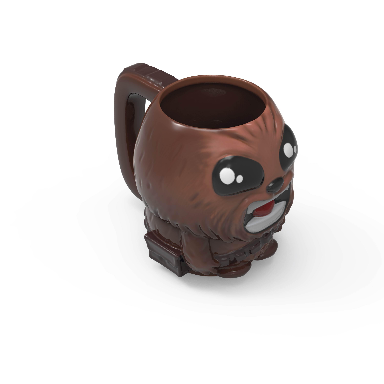 Star Wars 13 ounce Coffee Mug and Spoon, Chewbacca slideshow image 5