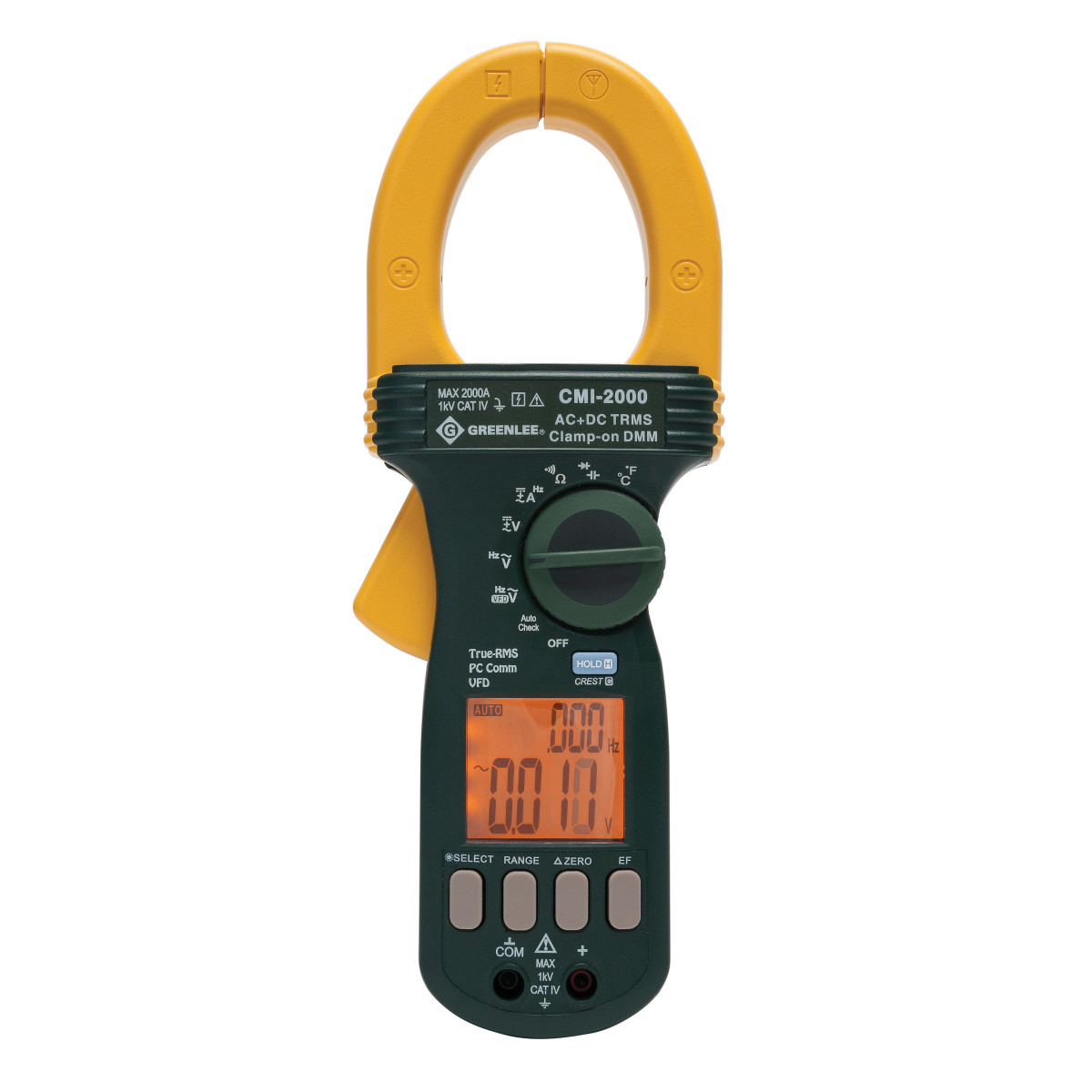 Greenlee CMI-2000 CLAMP METER TRMS 2000A AC
