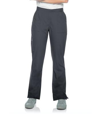 Landau Essentials Scrub Pants for Women: 9 Pockets, Modern Tailored Fit, Drawstring / Elastic Waist, Straight Leg 8380-Landau