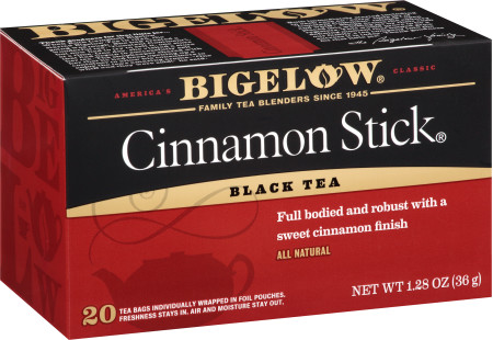 Cinnamon Stick Tea - Case of 6 boxes - total of 120 teabags