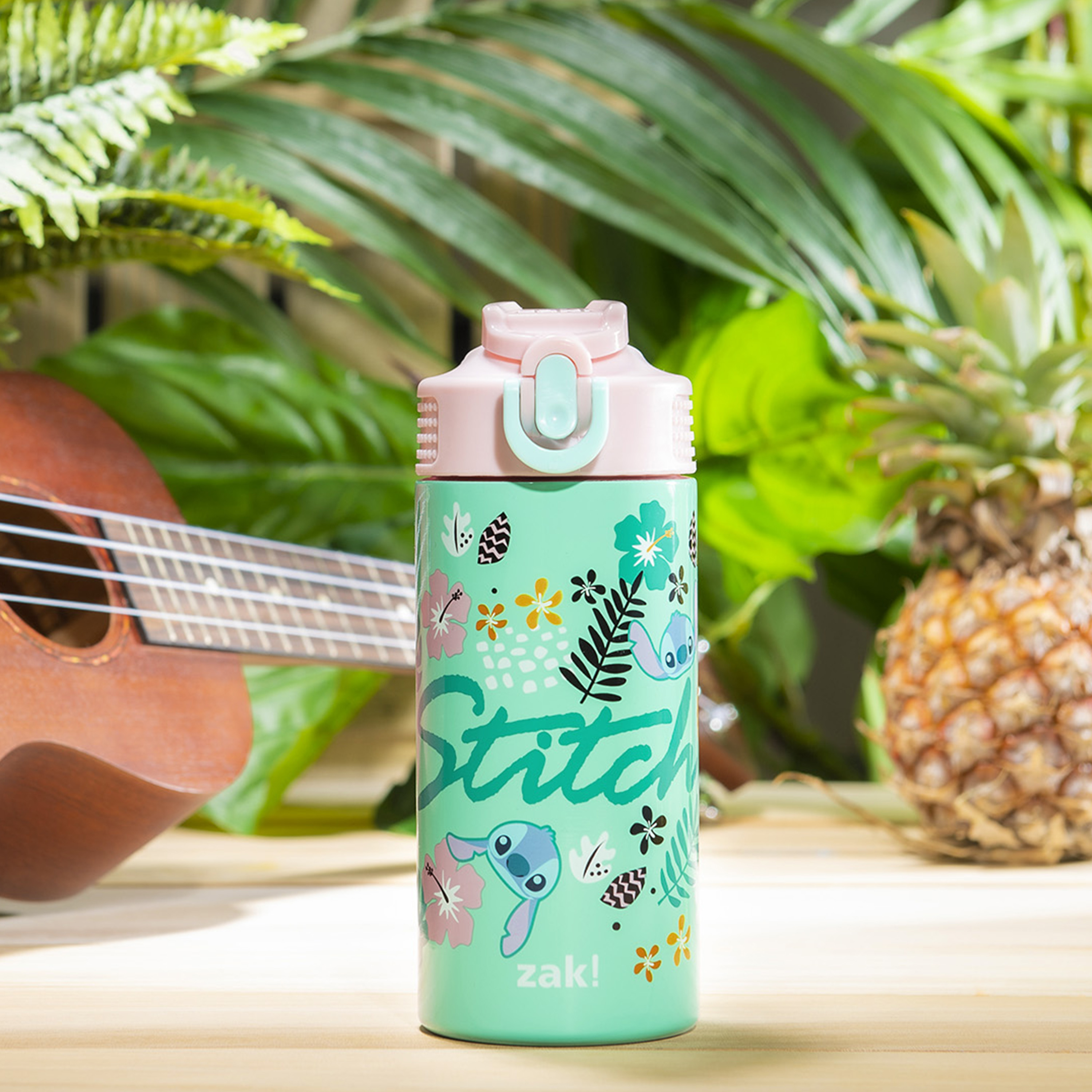 Disney 14 ounce Stainless Steel Vacuum Insulated Water Bottle, Lilo and Stitch slideshow image 3