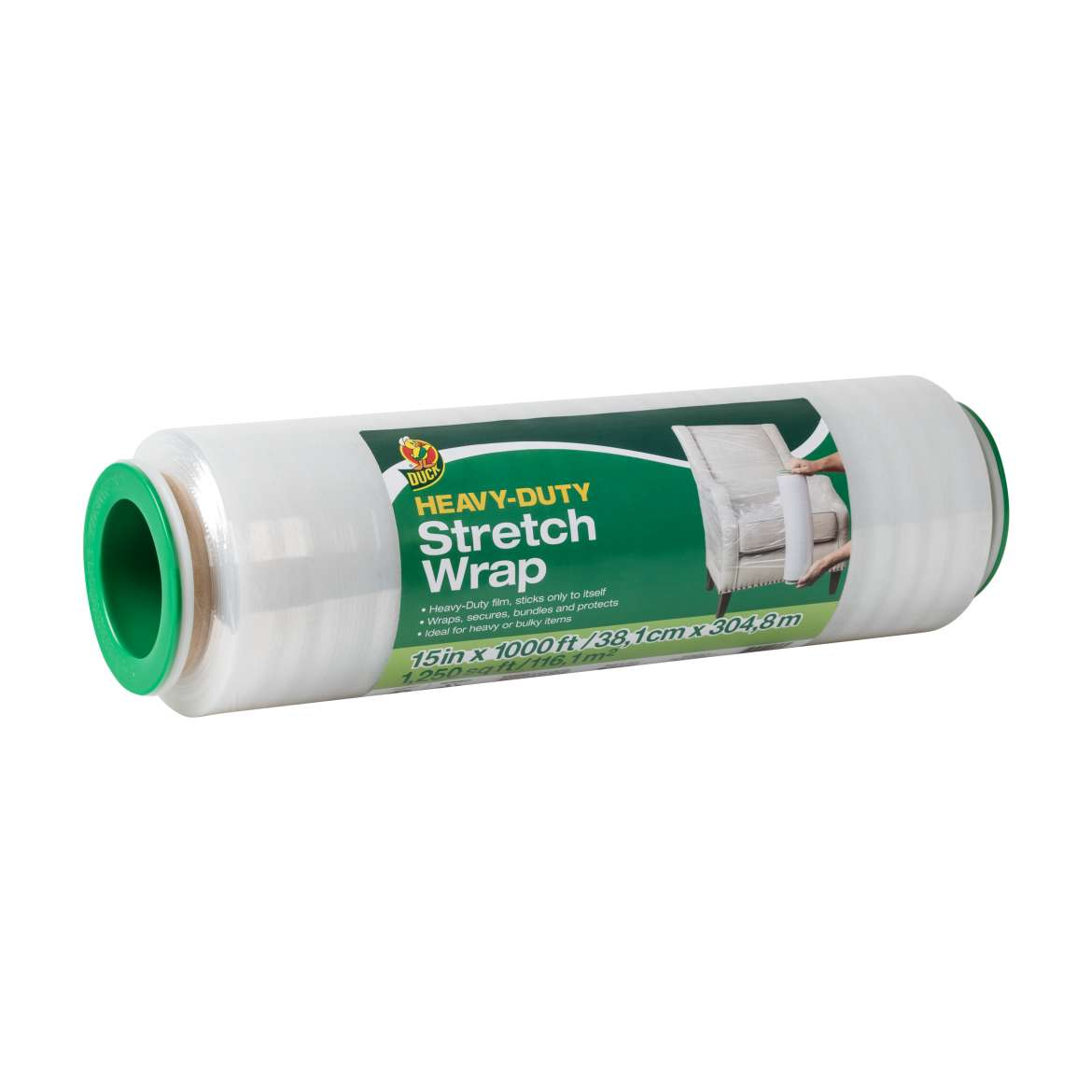 Duck® Brand Heavy-Duty Stretch Wrap Image