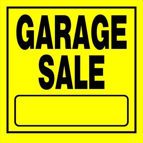 Garage Sale Sign (11