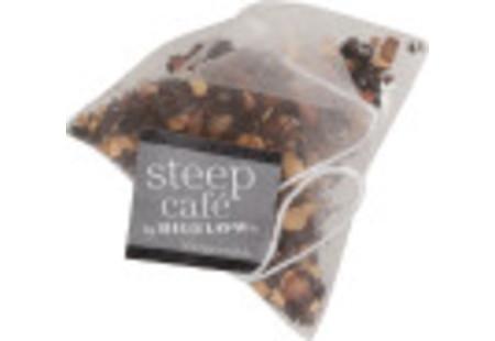 steep cafe by Bigelow organic full leaf chai black tea pyramid bag