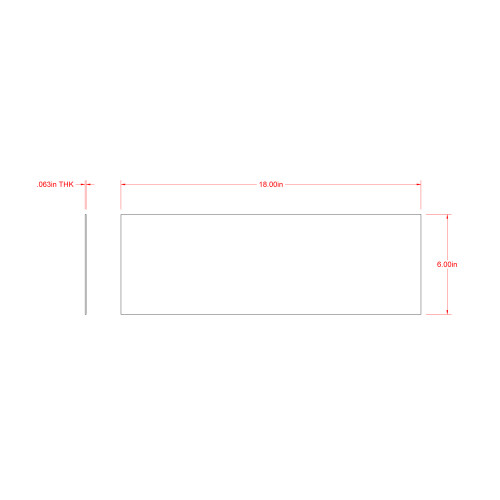 SteelWorks Weldable Steel Solid Sheet (1/16