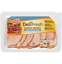 Oscar Mayer Deli Fresh Bold Maple Honey Ham 8 oz Tray
