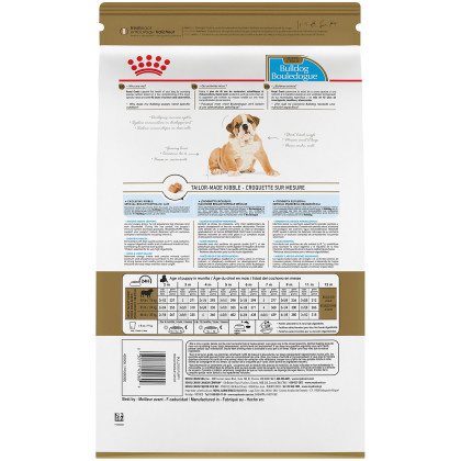 Royal Canin Breed Health Nutrition Bulldog Puppy Dry Dog Food