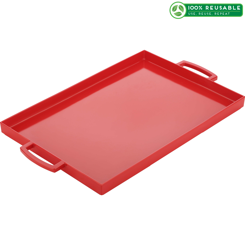 meeme Serving Tray, Red slideshow image 1