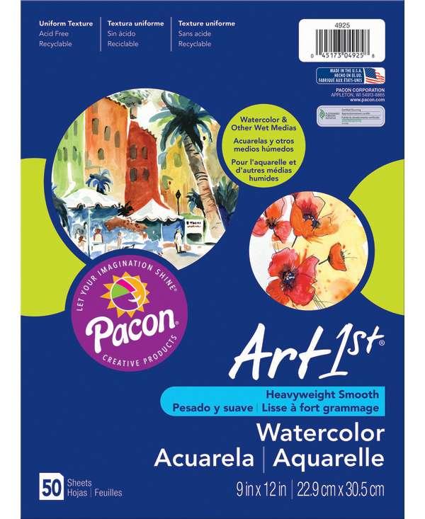 Art1st 174 Watercolor Paper 9 Quot X 12 Quot