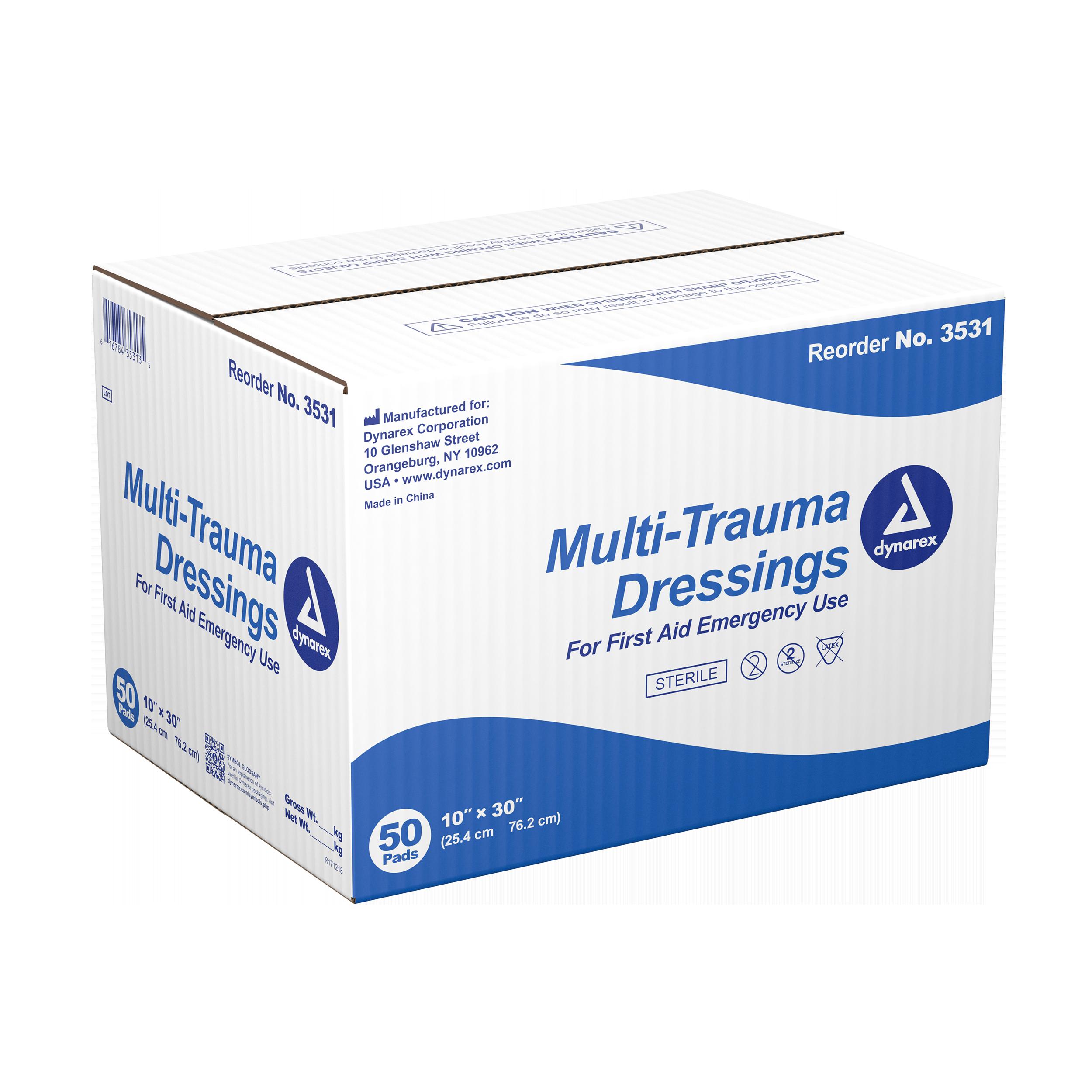 Multi-trauma Dressing Sterile - 10