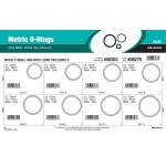 Nitrile Metric O-Ring Assortment (3mm Width)