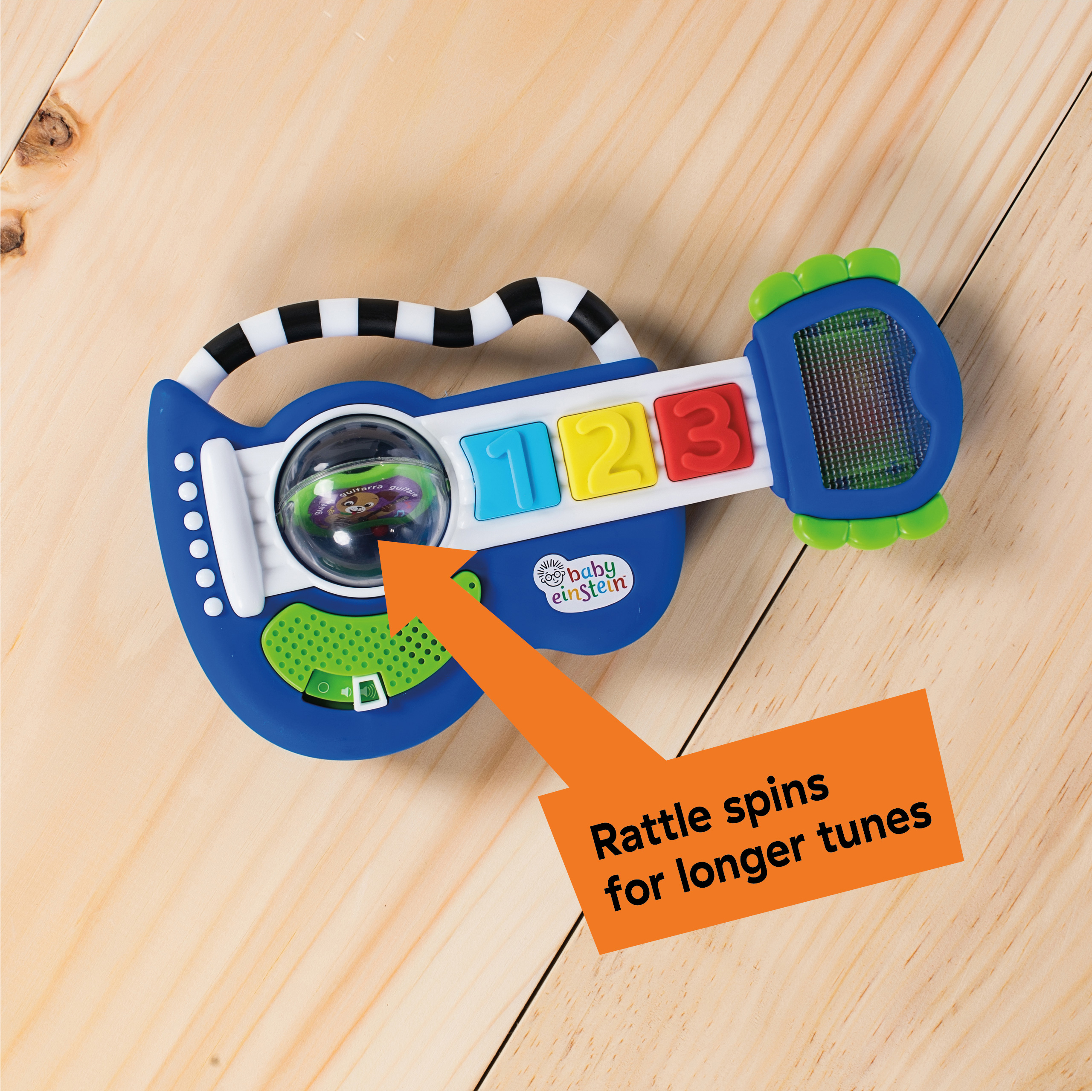 Rock, Light & Roll Guitar™ Musical Toy