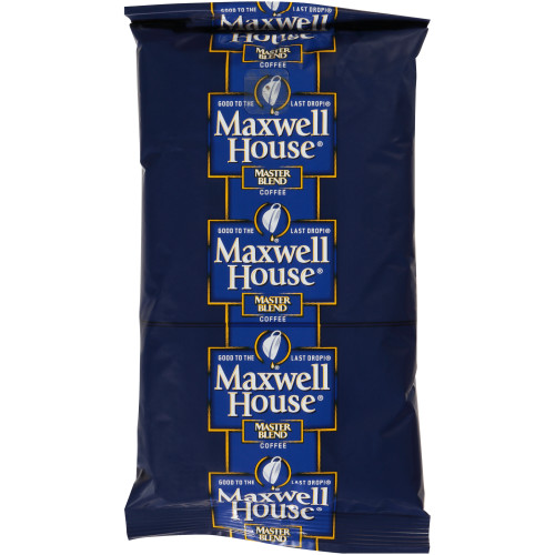 MAXWELL HOUSE Master Blend Coffee Urn Pack, 10 oz. Bag (Pack of 24)