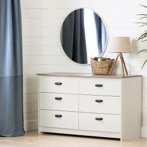 Plenny - 6-Drawer Double Dresser