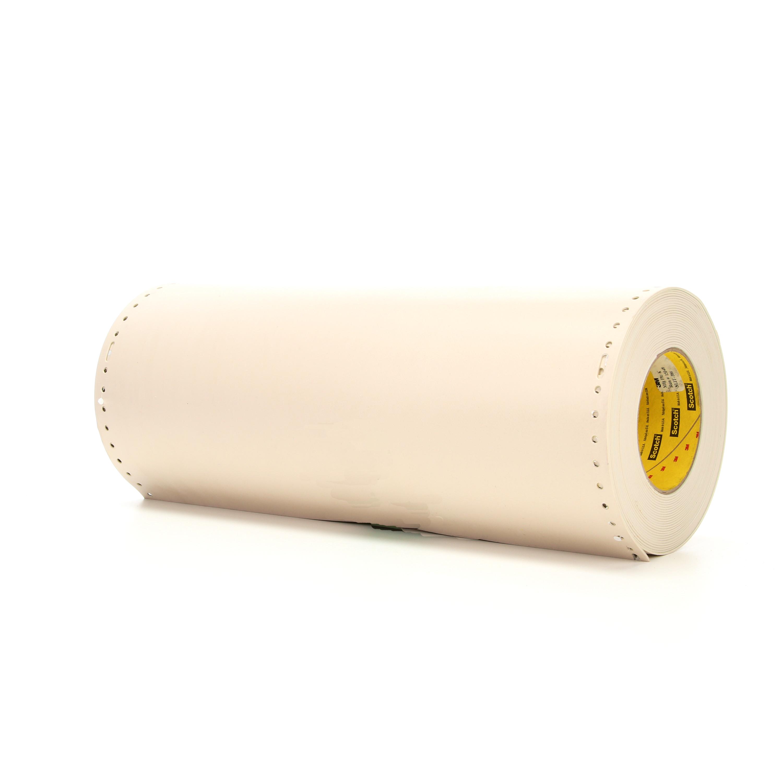 3M™ Die-Cut Sandblast Stencil 519YS, Tan, 15 in x 10 yd, 48 mil, 1 roll per case, Slot Feed