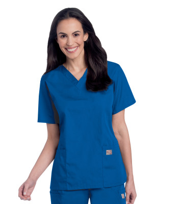 Scrub Zone Multi-Pocket Tunic-Landau