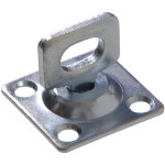 Swivel Staples Safety Hasps