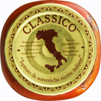 Classico Signature Recipes Fire Roasted Pizza Sauce 14 oz Jar