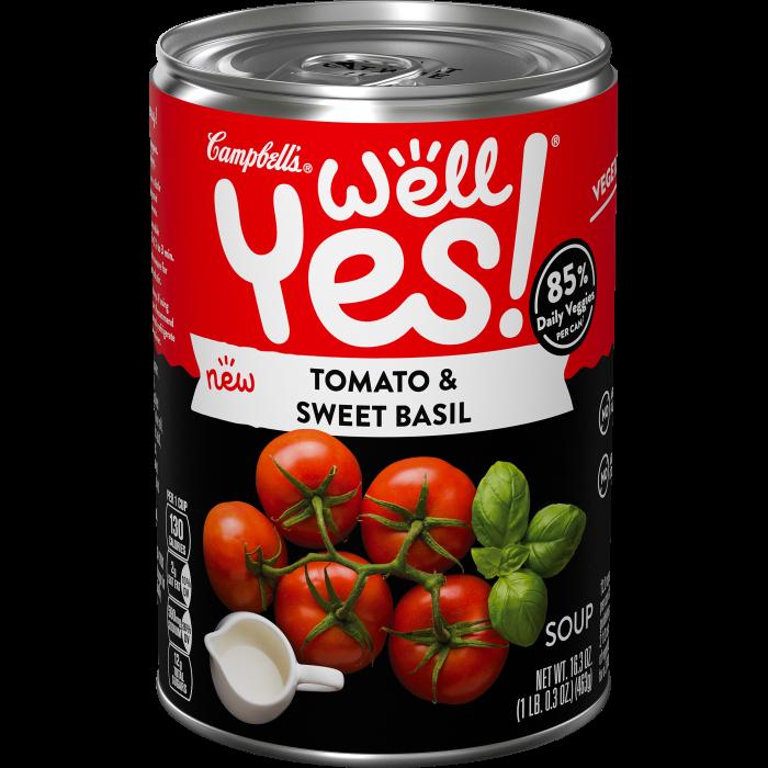 Tomato & Sweet Basil Soup