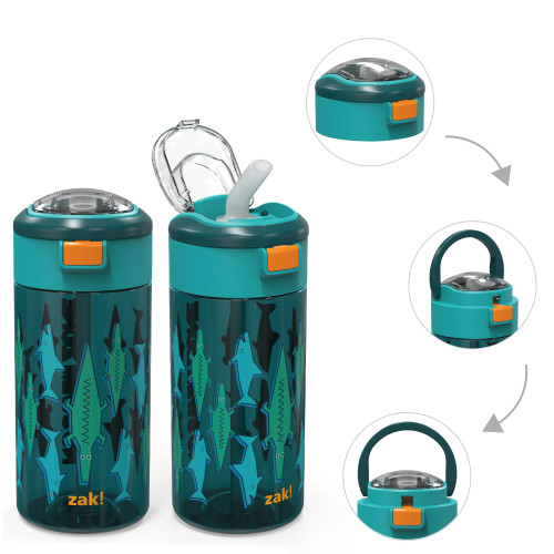 Genesis 18 ounce Water Bottles, Underwater, 2-piece set
