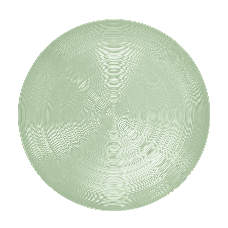 American Conventional Plate & Bowl Sets, Sage, 12-piece set slideshow image 4