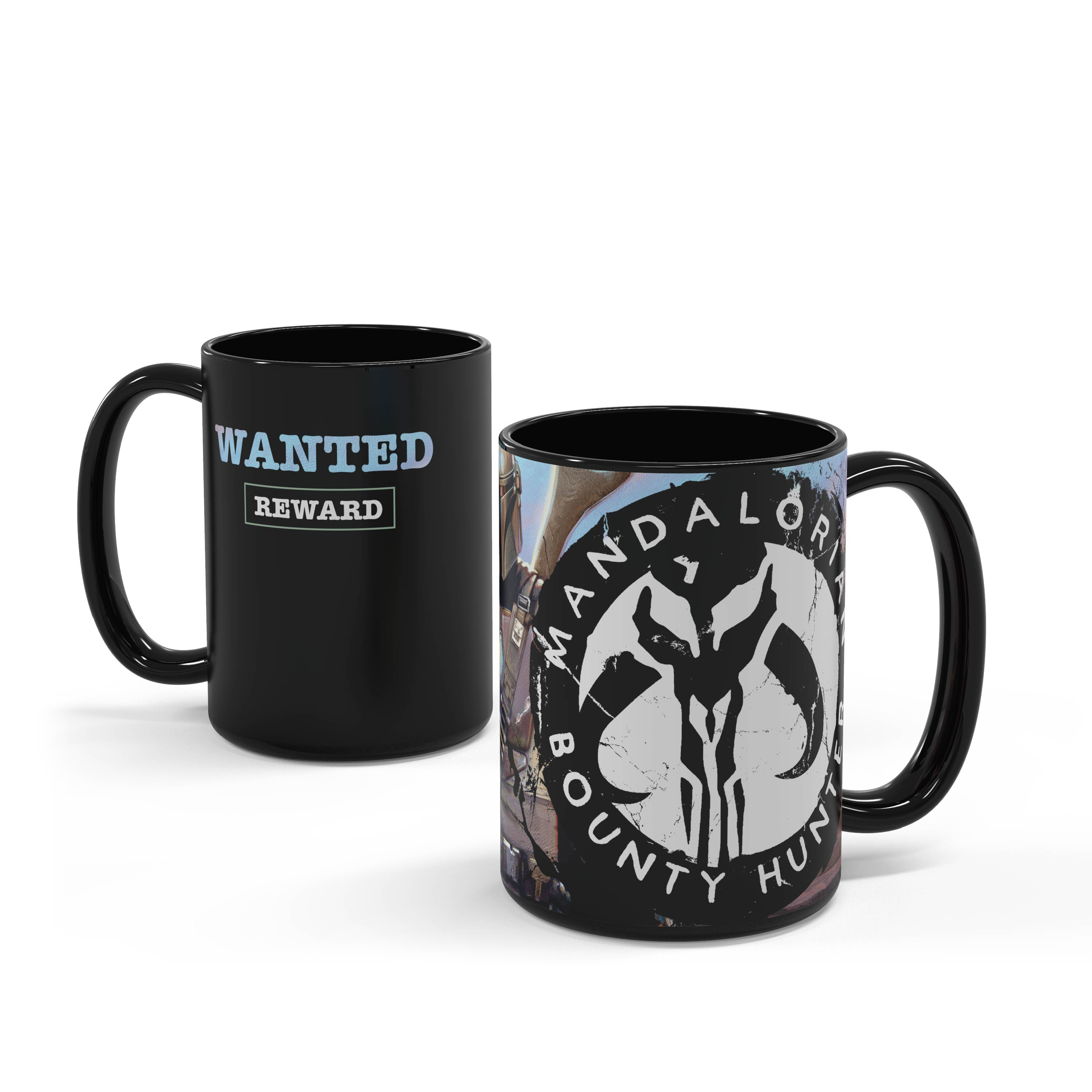 Star Wars: The Mandalorian 15 ounce Ceramic Coffee Mugs, The Mandalorian slideshow image 6