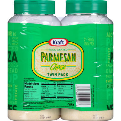 Kraft Grated Parmesan Cheese 40 oz Bottle