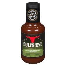 Bull's-Eye Grilled Onion & Garlic BBQ Sauce
