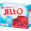 Jell-O Raspberry Sugar Free Gelatin Mix, 0.6 oz Box