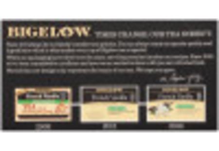 Front of French Vanilla Black Tea Decaffeinated box - box of 20 tea bags
