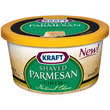 Kraft Shaved Parmesan Cheese 5 oz Tub