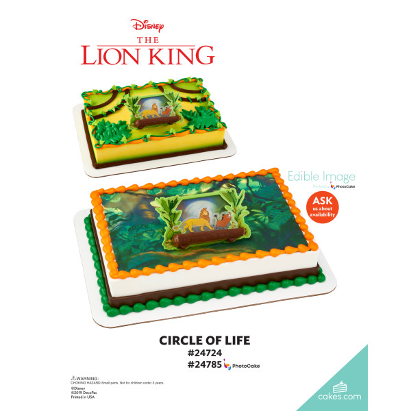 Disney The Lion King Circle of Life DecoSet® The Magic of Cakes® Page