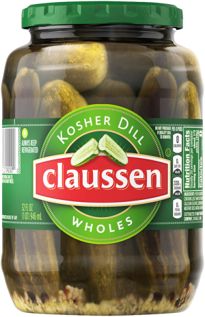Kosher Dill Pickle Wholes